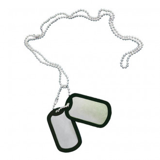 Купити Жетон Dog-Tag Texar в магазині Strikeshop