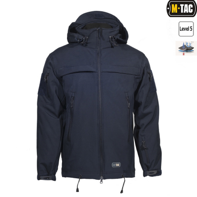 Купити M-TAC КУРТКА SOFT SHELL POLICE NAVY BLUE Size XS в магазині Strikeshop