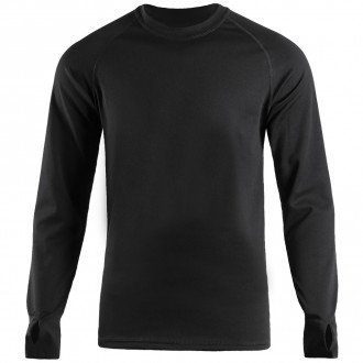 Купити Термобілизна LONG SLEEVE COOLMAX BLACK Size L в магазині Strikeshop