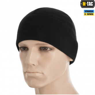 Купити Шапка M-Tac WATCH CAP ELITE ФЛІС WINDBLOCK 295 BLACK Size L в магазині Strikeshop