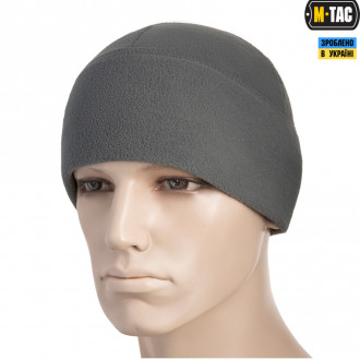 Купити ШАПКА M-TAC WATCH CAP ФЛІС (260Г/М2) GREY Size L в магазині Strikeshop