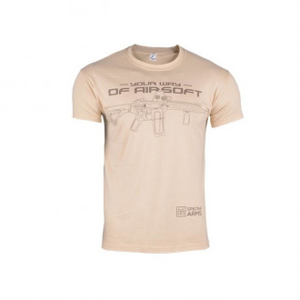 Купити Футболка Specna Arms Your Way of Airsoft V.2 Tan Size M в магазині Strikeshop