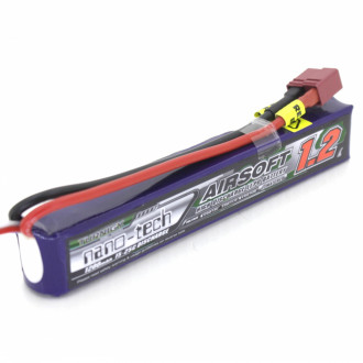 Купити Акумулятор Turnigy Nano-Tech LiPo 11.1v 1200mAh 15~30C (T-Connector) в магазині Strikeshop