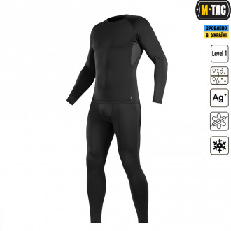 Купити ТЕРМОБІЛИЗНА M-TAC THERMOLINE BLACK Size M в магазині Strikeshop