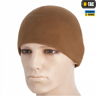 Купити Шапка M-Tac Watch Cap Elite Фліс (260Г/М2) Coyote Brown Size M в магазині Strikeshop