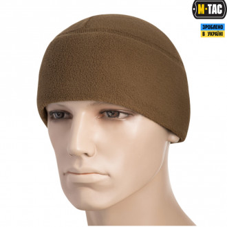 Купити M-TAC ШАПКА WATCH CAP ФЛІС (260Г/М2) WITH SLIMTEX COYOTE в магазині Strikeshop