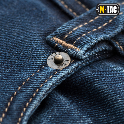 Купити ДЖИНСИ M-TAC TACTICAL GEN.I REGULAR FIT DARK DENIM Size 34/32 в магазині Strikeshop
