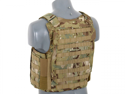 Купити Плитоноска 8Fields NAVY SEAL LIGHTFIGHTER PLATE CARRIER MULTICAM в магазині Strikeshop