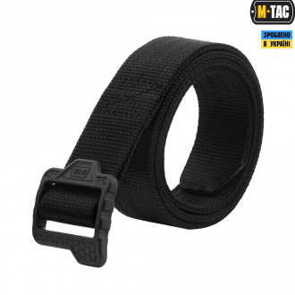 Купити M-TAC РЕМІНЬ DOUBLE DUTY TACTICAL BELT HEX BLACK в магазині Strikeshop